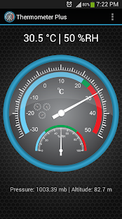 Thermometer Plus - screenshot thumbnail