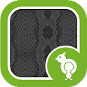 Go Locker Snake Skin Gray icon