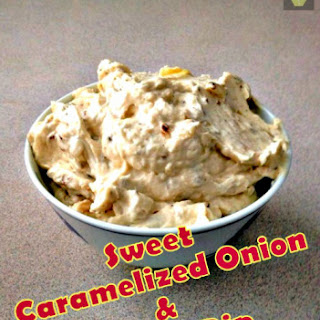 Sweet Caramelized Onion and Garlic Dip.