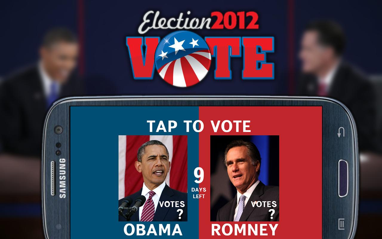 Obama vs Romney - screenshot