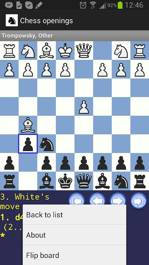 Chess Openings - screenshot