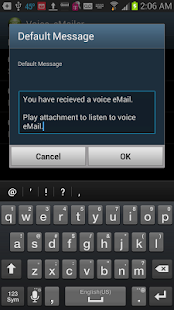 Voice eMailer - screenshot thumbnail