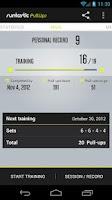 Screenshot of Runtastic Pull-ups Workout PRO