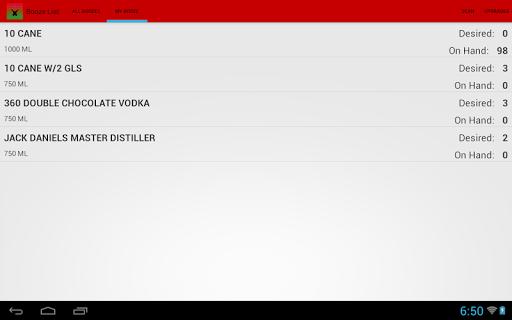 【免費購物App】Booze List - Liquor Inventory-APP點子