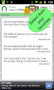 Youth Bible Verses & widget - screenshot thumbnail