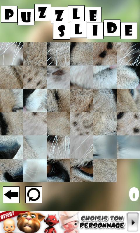 Puzzle Slide : Animal- screenshot
