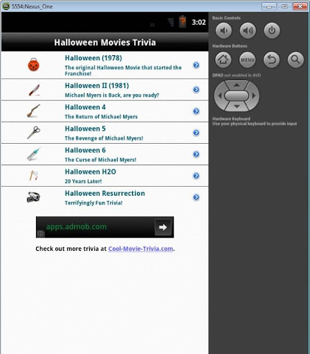 Halloween Movies Trivia