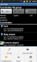 Screenshot of Get Point - GPS