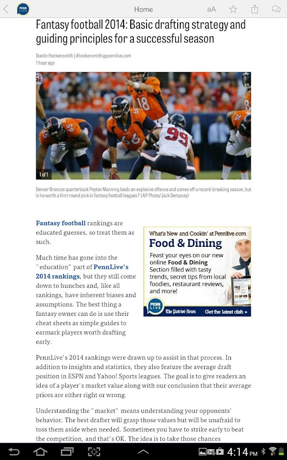 PennLive.com- screenshot