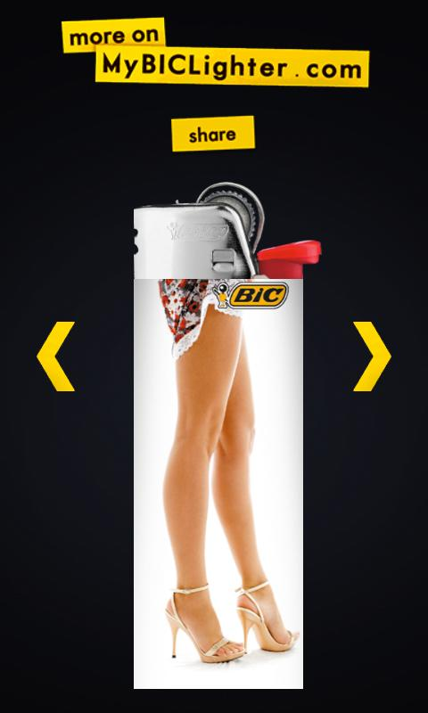 My Bic® Lighter - screenshot