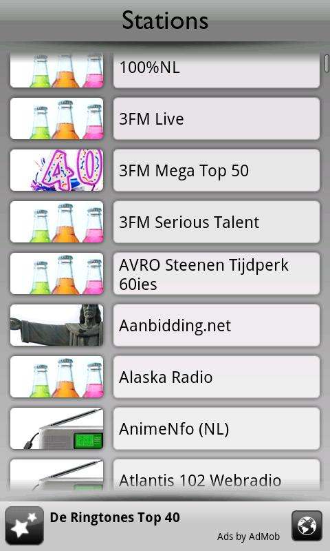 Nederland Radio by Tunin.FM: screenshot