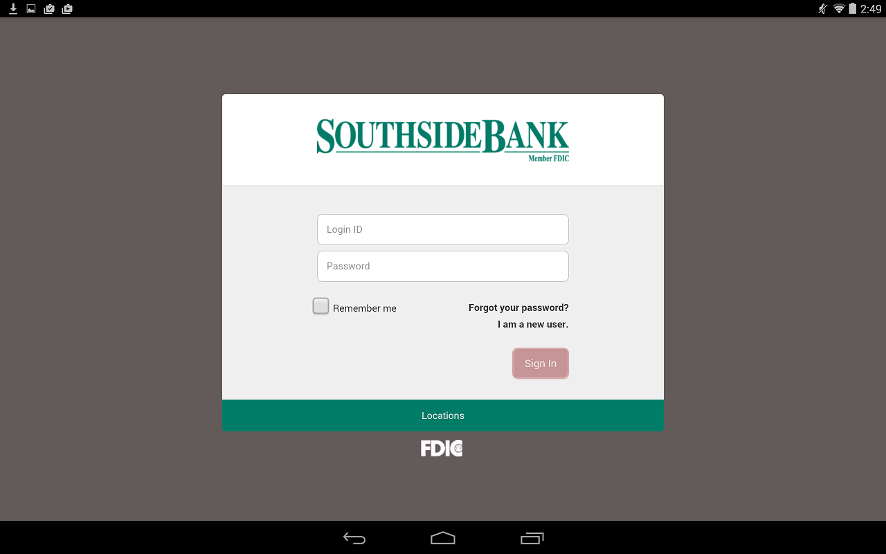Southside Bank - screenshot