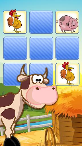 재밌는 동물농장 메모 게임