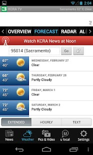 KCRA 3 News and Weather- screenshot thumbnail