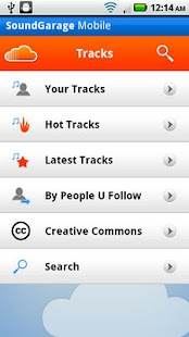 SoundGarage Pro for SoundCloud - screenshot thumbnail