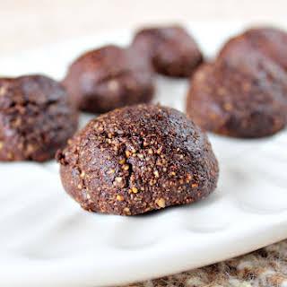 Cashew Chocolate Cookies.