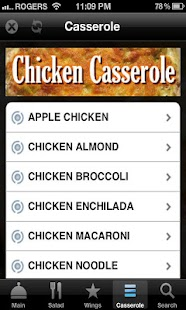 Chicken Recipes Free - screenshot thumbnail