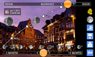 Screenshot of MoonTrajectory.net