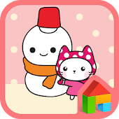 Love bani(snow)Dodol Theme