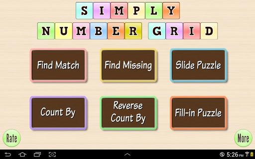 Base 10 Number Grid 4 kids