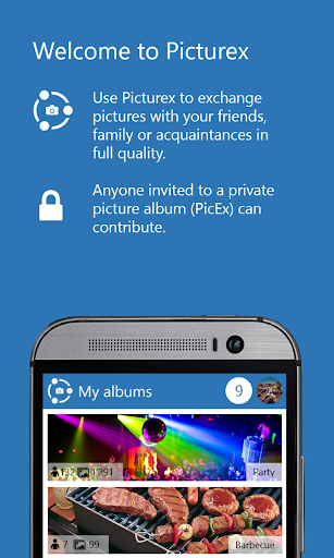 Picturex Private Photo Sharing