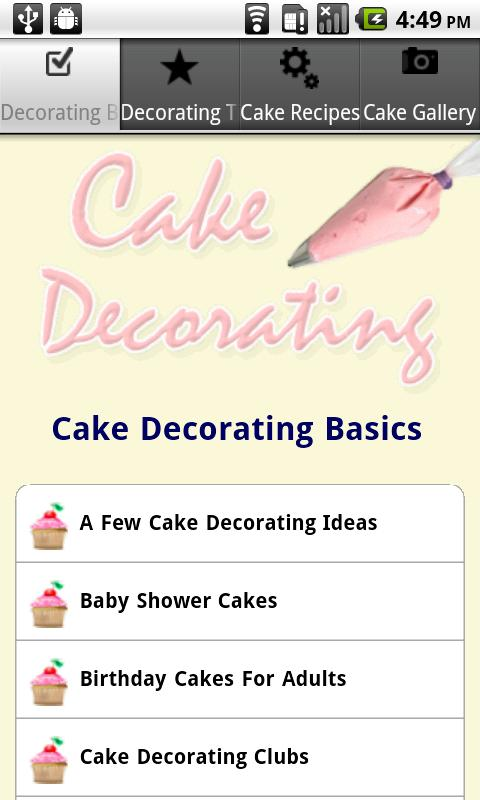 cake decorating tips android apps on google play
