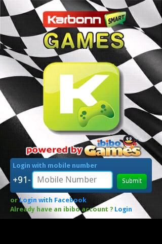 Karbonn Smart Games - screenshot