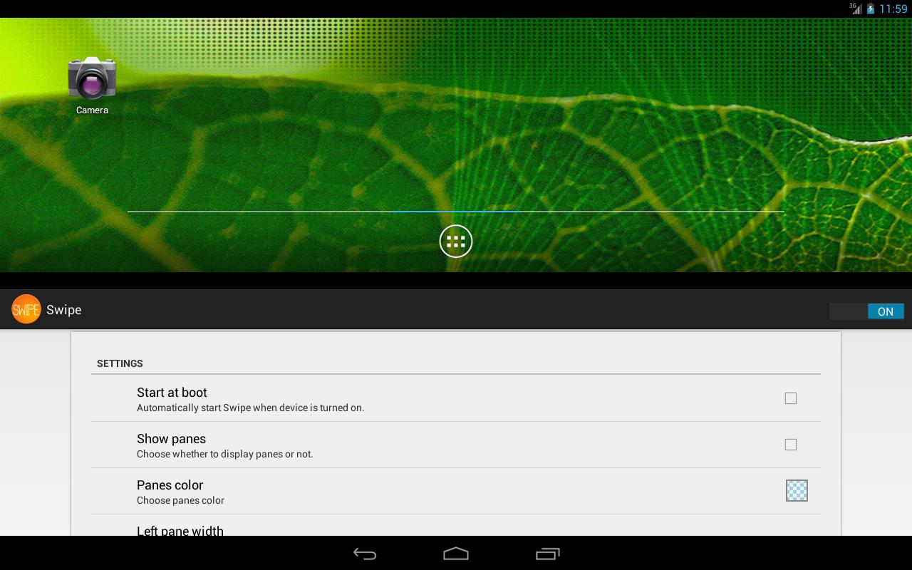 Swipe - screenshot
