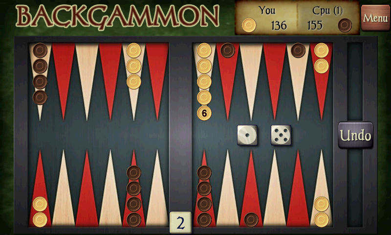 Screenshots of Backgammon Free for iPhone