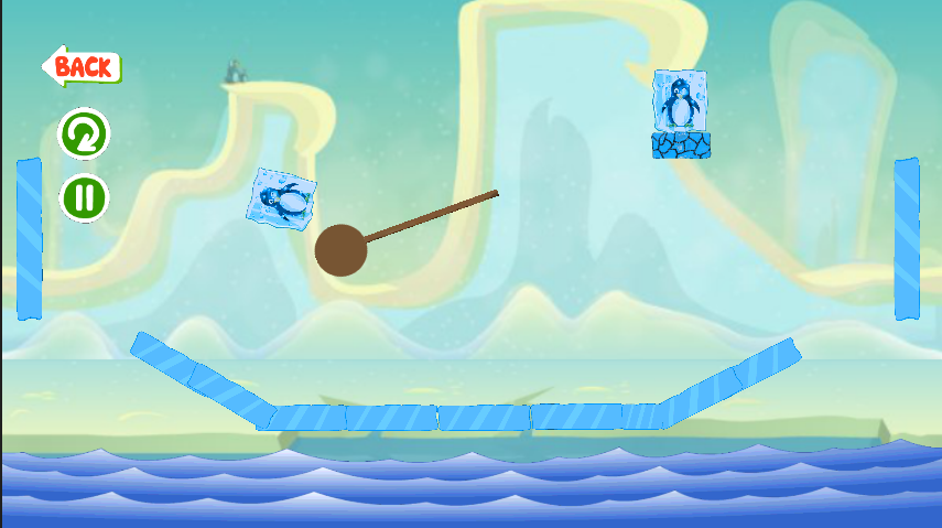 Ice Cube Penguin - screenshot