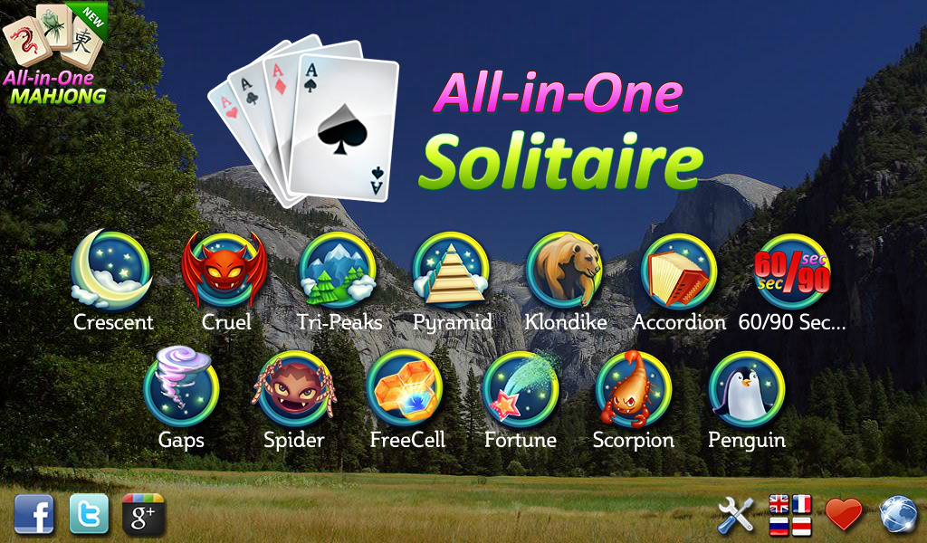 All In One Solitaire Free Android Apps On Google Play