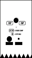 Screenshot of Impossible Ball - bouncy dash