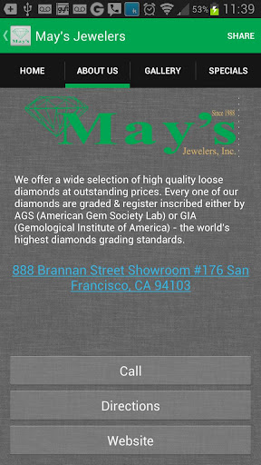 May's Jewelers
