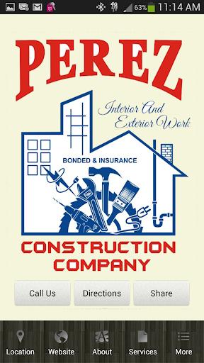 Perez Construction