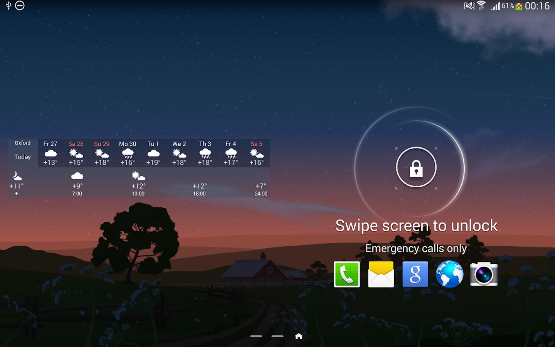 YoWindow Weather - screenshot