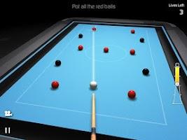 Screenshot of 3D Pool Madness