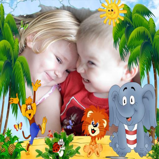 Kids Photo frames free 攝影 App LOGO-硬是要APP