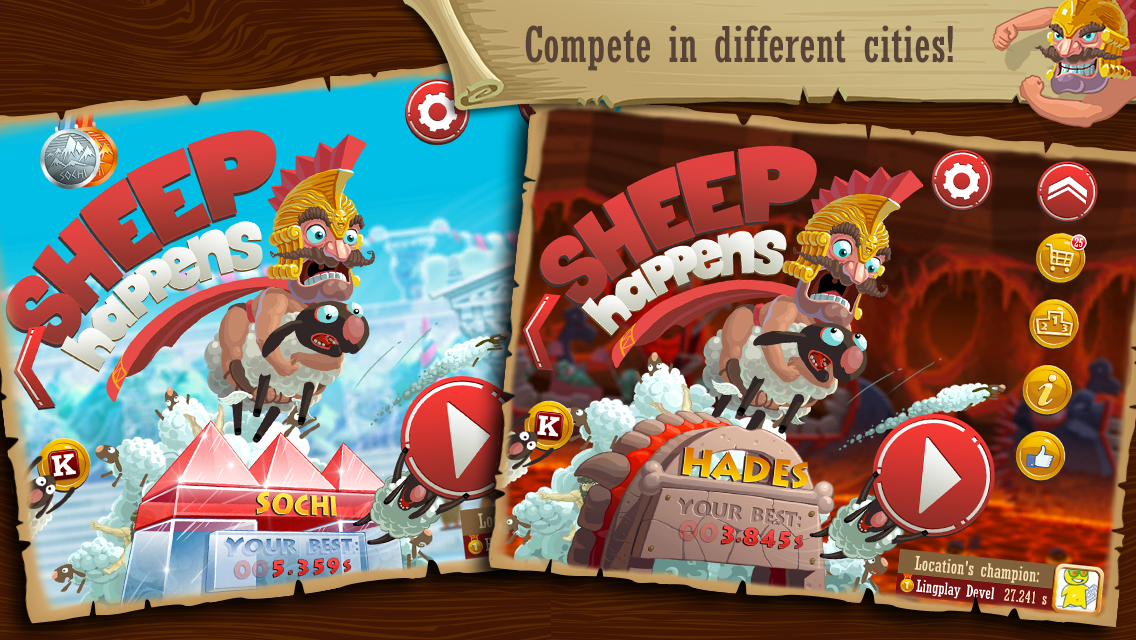 Sheep Happens - screenshot