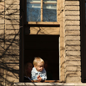 Waiting  by VAM Photography - Babies & Children Children Candids ( parade, cities, nyc, thanksgiving, boy )