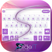 SlideIT Abstract Purple Skin