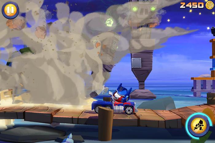 Angry Birds Transformers- screenshot