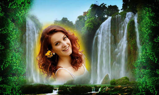 Photo On Water Falls