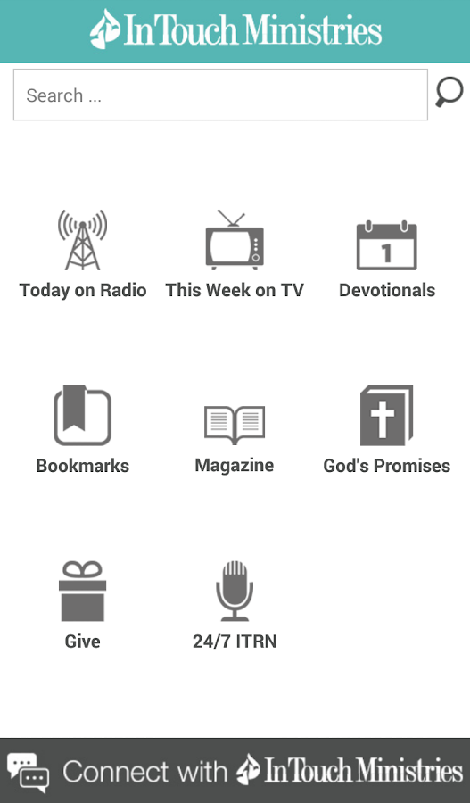 In Touch Ministries - screenshot