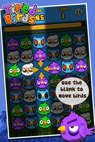 TiredBirds- screenshot