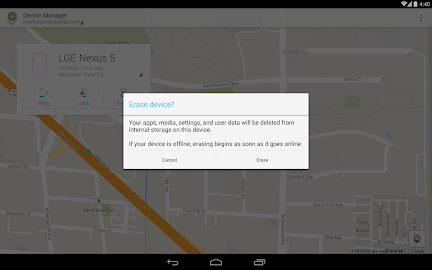 Android Device Manager Screenshot 9