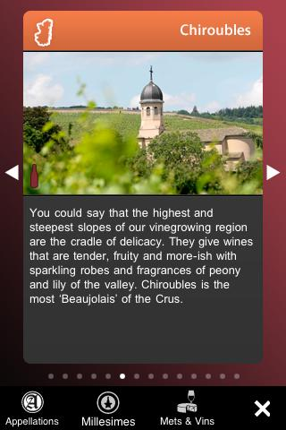 Wines of Beaujolais- screenshot