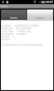 UoP Library - screenshot thumbnail