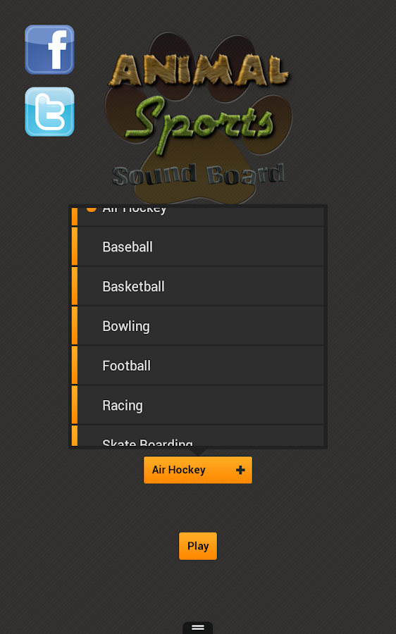 Animal Sports Sound Board- screenshot