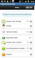 Screenshot of English Lessons by Sp forJ1