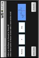 Screenshot of Amino Acid Memorizer